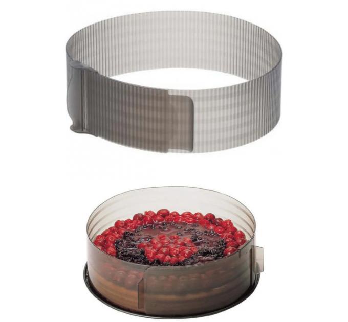 Кольцо для формирования торта Fackelmann D30 см, пластик (43400) - фото № 1