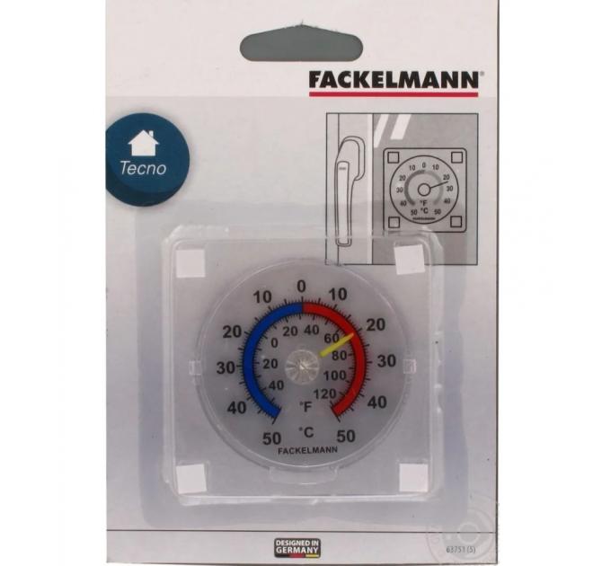 Термометр уличный Fackelmann 7.5*7.5 см, пластик (63751) - фото № 1
