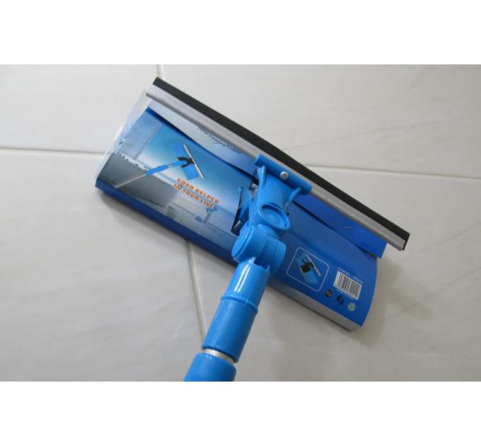 Швабра для мытья окон Dream Land поворотная губка 25 см, телескоп. ручка 86-122 см (FB0918) - фото № 1