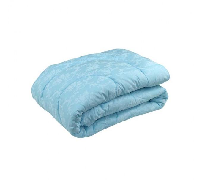 Одеяло РУНО 200х220 силиконовое, голубой - фото № 1