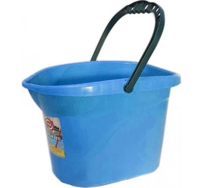 Ведро для уборки без отжима Elif 13л, синий (380/0-2) - фото № 1