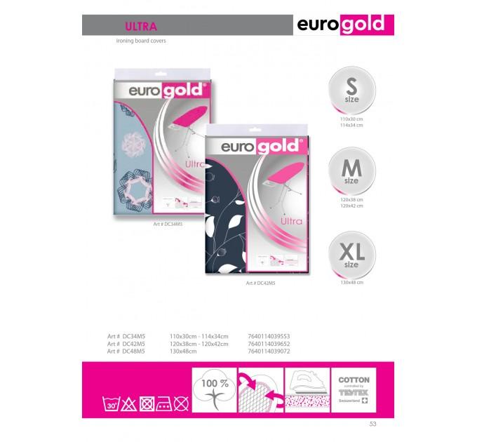 Чехол для гладильной доски 114*34 см Eurogold Ultra (DC34M5)