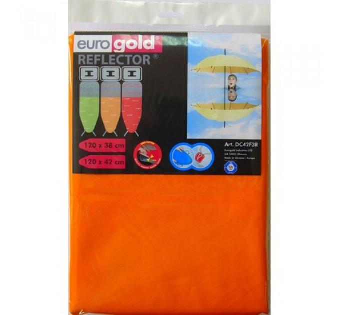 Чехол для гладильной доски 120*42 см Eurogold REFLECTOR (DC42F3R)