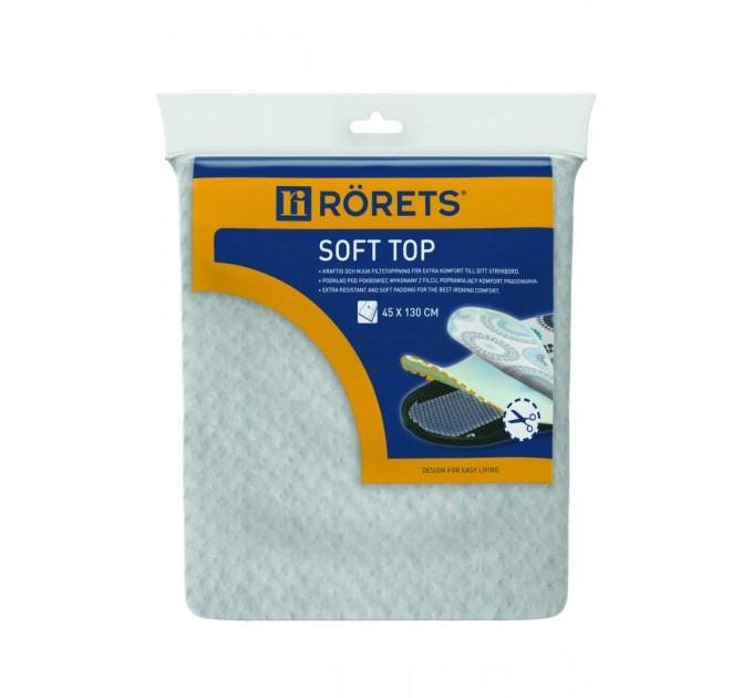Чехол для гладильной доски 130*45 см Rorets SOFT TOP (2787)