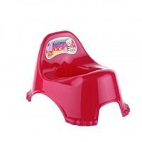 Горшок детский Elif Potty Chair, малиновый (311-3)