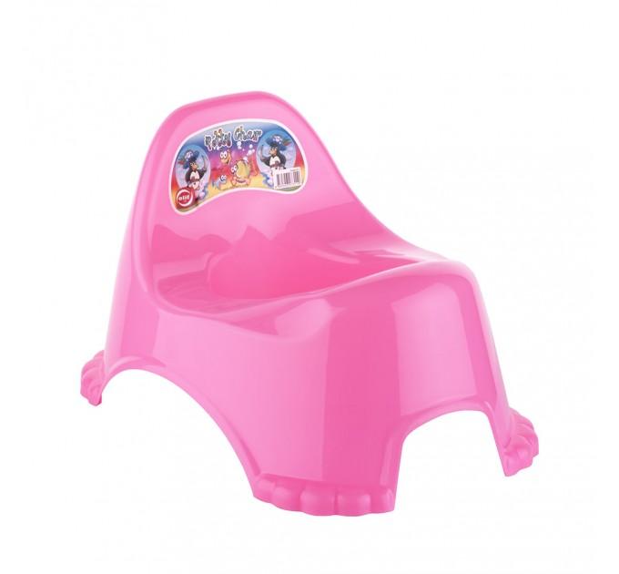 Горшок детский Elif Potty Chair, розовый (311-2) - фото № 1