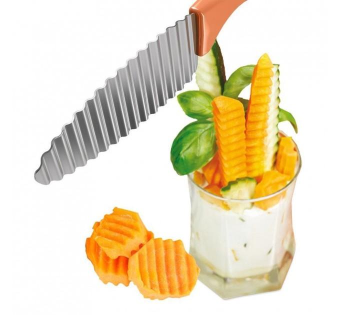 Нож для декоративной нарезки METALTEX (252795) - фото № 3