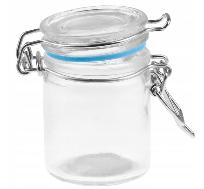 Емкость для хранения Fackelmann D6.5*4см, стекло (46910) - фото № 1