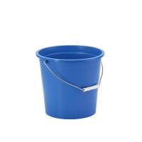 Ведро OZHAVAN PLASTIK 10л, синий (N-54)