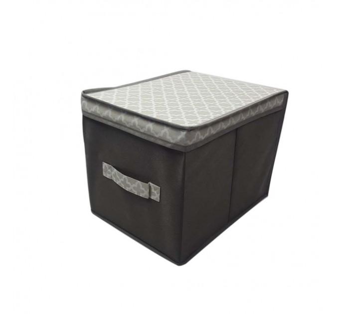 Короб для хранения вещей Тарлев 30*30*30см, French Grey (485494-RO) - фото № 1