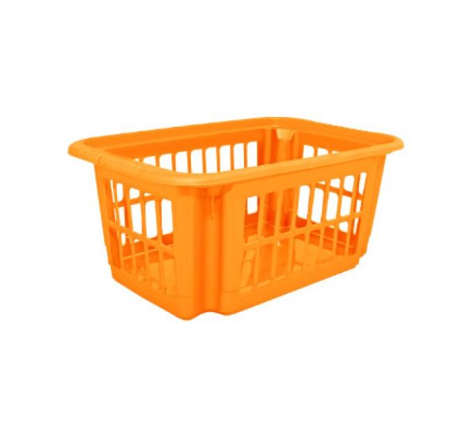 Корзина Алеана 18л, светло-оранжевый (122059) - фото № 1