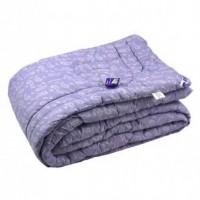 Одеяло 200х220 шерстяное сиреневый