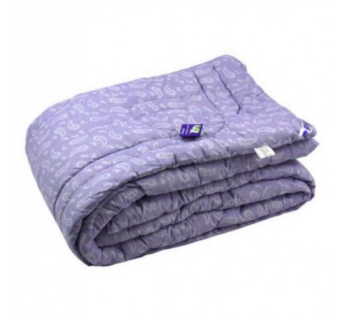 Одеяло 200х220 шерстяное сиреневый - фото № 1