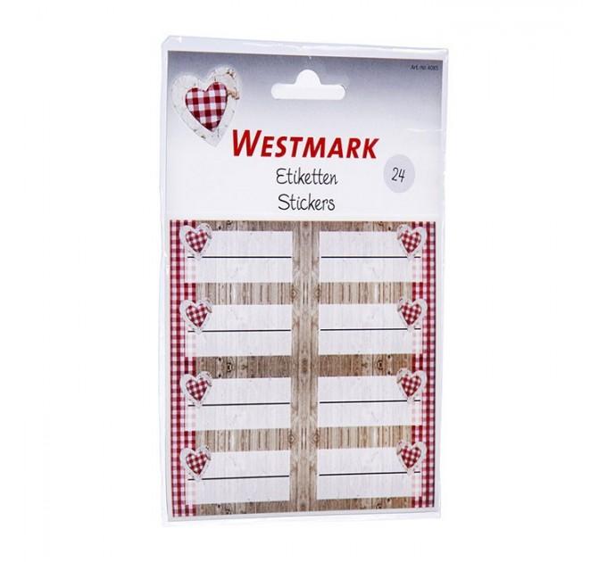 Набор этикеток 24шт Westmark (W40852230) - фото № 1