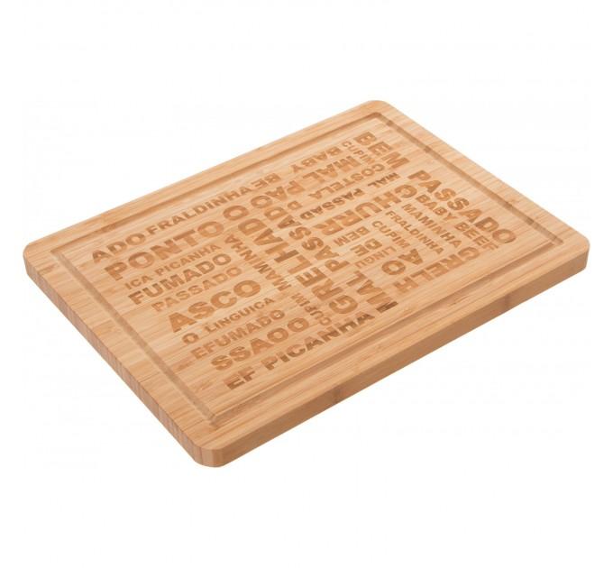 Доска разделочная Fackelmann 30*4*2 см, бамбук (688987) - фото № 1