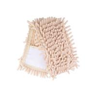 Насадка для швабры Eco Fabric из микрофибры лапша, бежевый (EF-0075-LB)