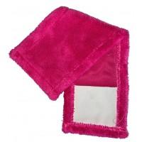 Насадка для швабры Eco Fabric из микрофибры, розовая (EF-0050-PR)