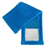 Насадка для швабры Eco Fabric из микрофибры, синяя (EF-0050-PB)