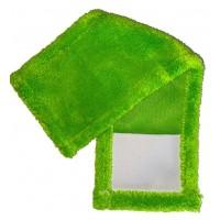 Насадка для швабры Eco Fabric из микрофибры, зеленый (EF-0050-PG)