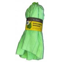 """Насадка для швабры Eco Fabric МОП """"юбочка"""" из полосок микрофибры 120г, зеленый (EF-0120-UG)"""