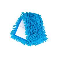 Насадка для швабры Eco Fabric SUPER PROF из микрофибры лапша, синий (EF-1500-B)