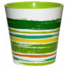 Вазон со вставкой Алеана ДЕКО d13*12.5 с декором, зеленый (114040)