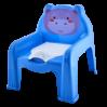 Горшок-стульчик детский Алеана, голубой (124070)