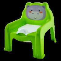 Горшок-стульчик детский Алеана, оливковый (124070)