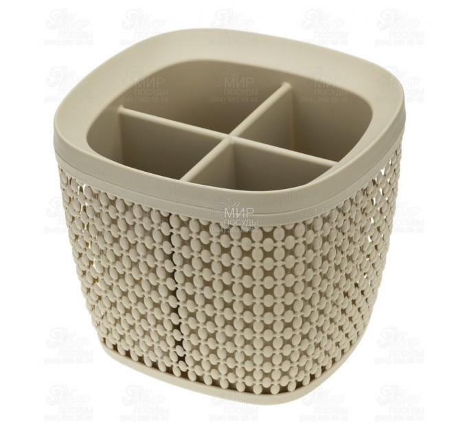 Сушилка для столовых приборов ПИРУЛА IDEA, латте (М1168Л) - фото № 1