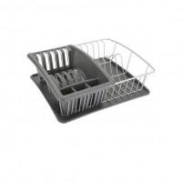 Сушилка для посуды и столовых приборов AQUATEX PLUS Metaltex 35*30*12см (325026)