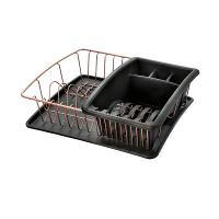 Сушилка для посуды и столовых приборов COPPER Metaltex 35*30*12см (325826)