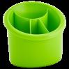 Подставка для столовых приборов Алеана овальная, оливковый (167094)