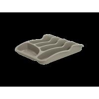 Лоток для столовых приборов Алеана, какао (167095)
