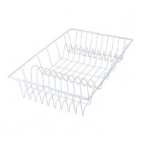 Сушилка для посуды GERMATEX Metaltex 48*30см, белый (320145)