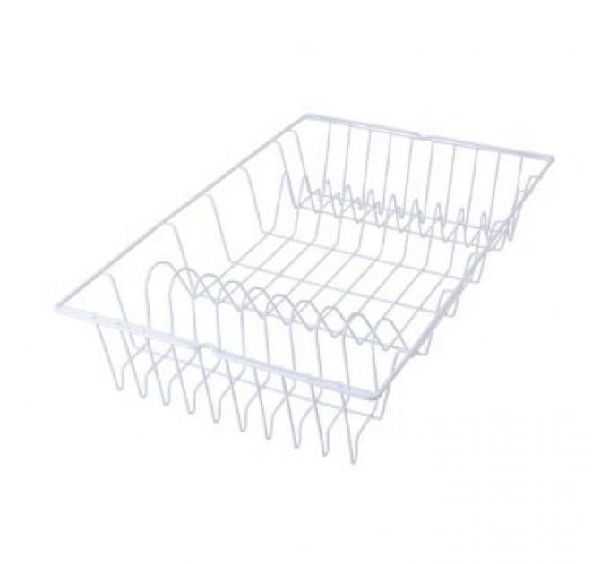 Сушилка для посуды GERMATEX Metaltex 48*30см, белый (320145) - фото № 1