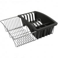 Сушилка для посуды и столовых приборов AQUATEX Metaltex 35*30*11см (325025)