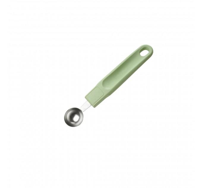 Ложка для декоративной нарезки Fackelmann ECO 18см, сталь/био-пластик (33075) - фото № 1
