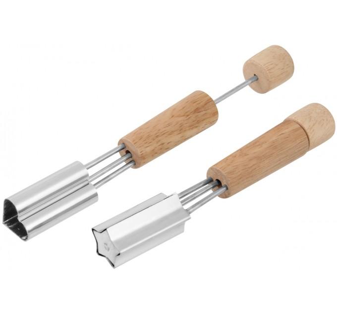 Нож для декоративной нарезки Fackelmann 16 см, сталь/древесина (49019) - фото № 1
