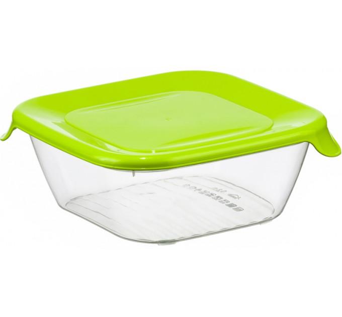 Емкость для хранения продуктов 0.8л ПРАКТИК IDEA, салатовый (М1462) - фото № 1