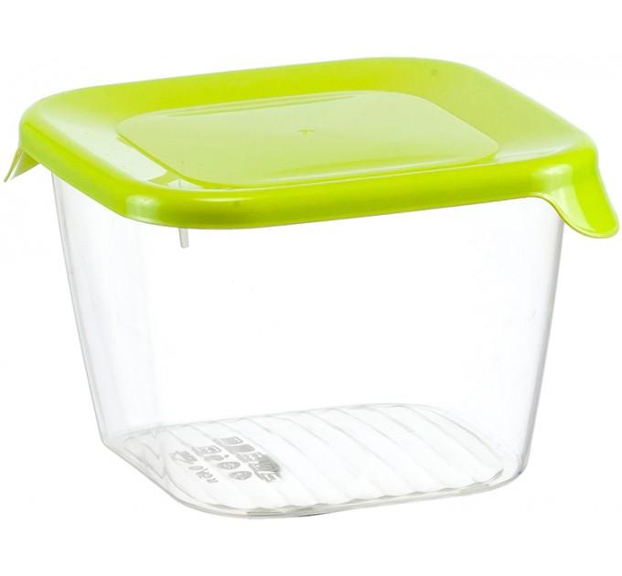 Емкость для хранения продуктов 0.45л ПРАКТИК IDEA, салатовый (М1467) - фото № 1