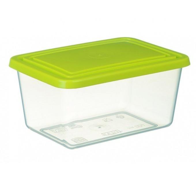 Емкость для хранения продуктов прямоугольная 0.8л IDEA (М1451) - фото № 1