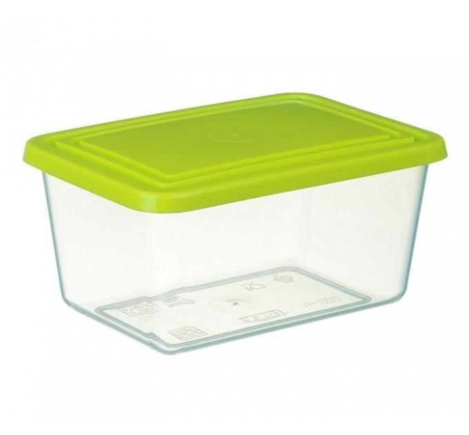 Емкость для хранения продуктов прямоугольная 1.2л IDEA (М1452) - фото № 1
