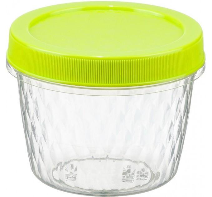 Емкость для хранения продуктов 0.55л РОЛЛ IDEA, салатовый (М1473) - фото № 1