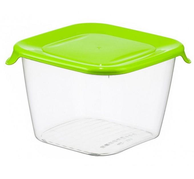 Емкость для хранения продуктов 1.5л ПРАКТИК IDEA, салатовый (М1463) - фото № 1