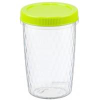 Емкость для хранения продуктов 0.7л РОЛЛ IDEA, салатовый (М1472)