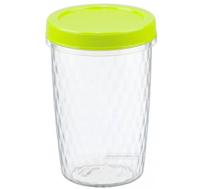 Емкость для хранения продуктов 0.7л РОЛЛ IDEA, салатовый (М1472) - фото № 1
