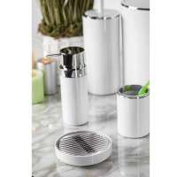 Дозатор для жидкого мыла Prima Nova LENOX, белый (E31-01)