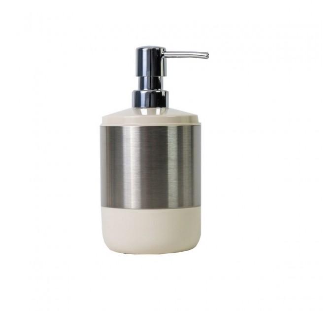 Дозатор для жидкого мыла Prima Nova LIMA XL, бежевый (SA06-09) - фото № 1