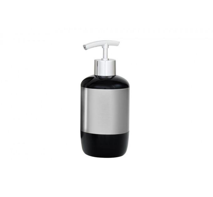 Дозатор для жидкого мыла Prima Nova, черный (E17-06) - фото № 1