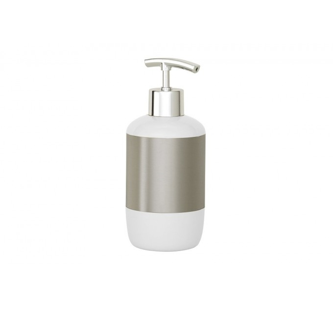 Дозатор для жидкого мыла Prima Nova, белый (E17-01)